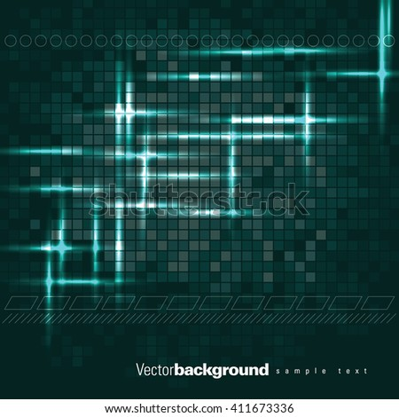 Abstract Shiny Background. - stock vector
