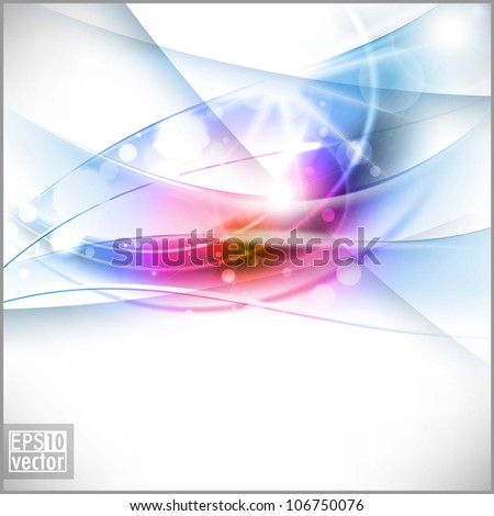 Abstract shiny background. EPS 10. - stock vector