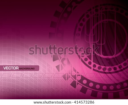 Abstract Shiny Background. Pink Illustration. - stock vector