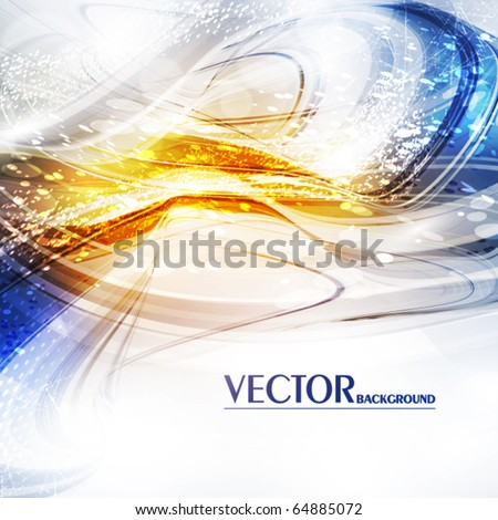 Abstract shiny background. Vector - stock vector