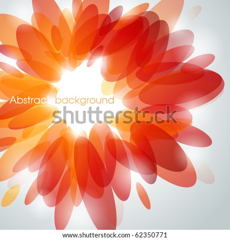 Abstract shiny background. Vector illustration. - stock vector