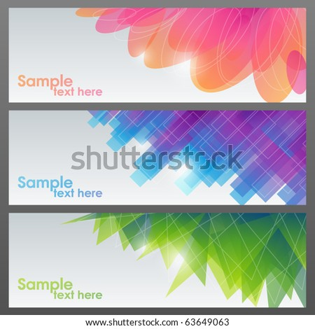 Abstract shiny backgrounds. Vector illustration. - stock vector