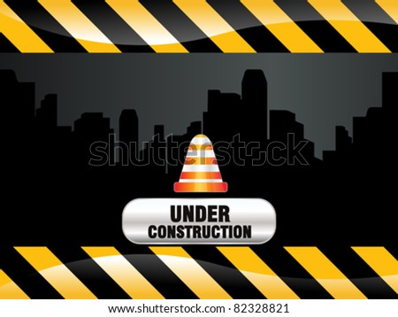 abstract shiny construction background vector illustration