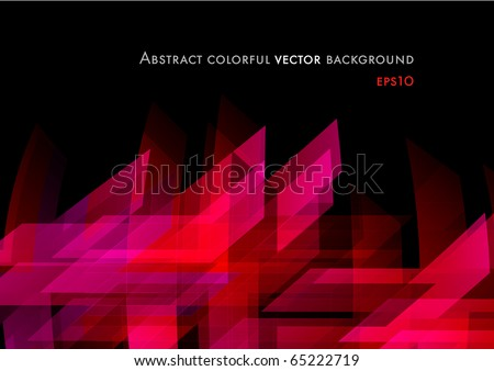 Abstract shiny modern background design (eps10) - stock vector