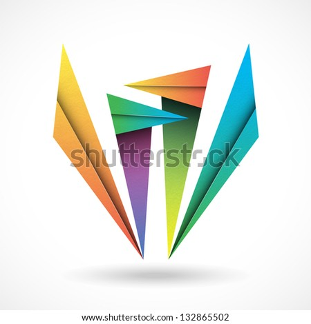 Abstract sign - stock vector