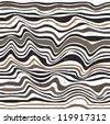 Abstract  skin zebra pattern - stock vector