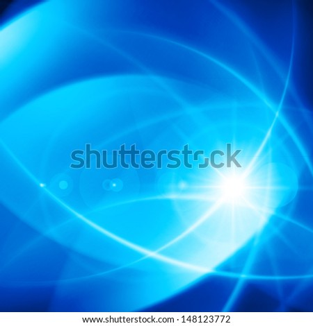 Abstract smooth light lines vector background eps 10 - stock vector