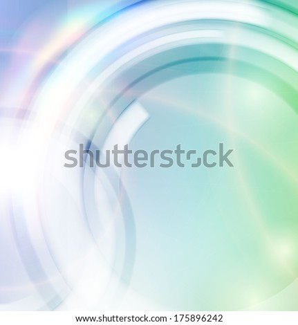Abstract smooth lines vector background - stock vector