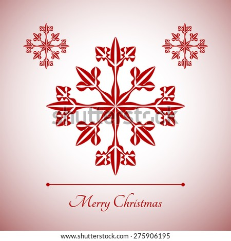 abstract snowflake with merry christmas sign for christmas greeting cards advertising and other creative designs - How To Sign A Christmas Card