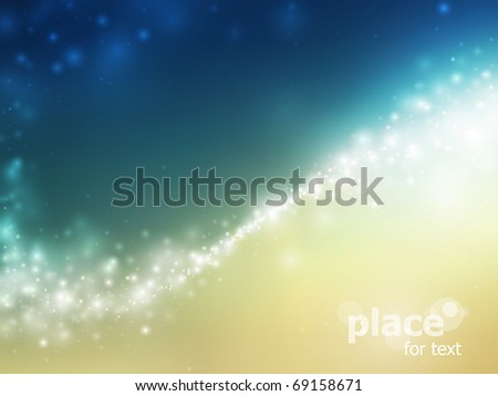 abstract space background with stars - stock vector