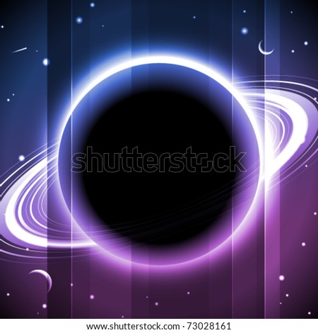 Abstract space lights background