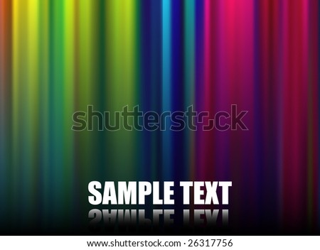 Abstract Spectrum Background (Vector) - stock vector