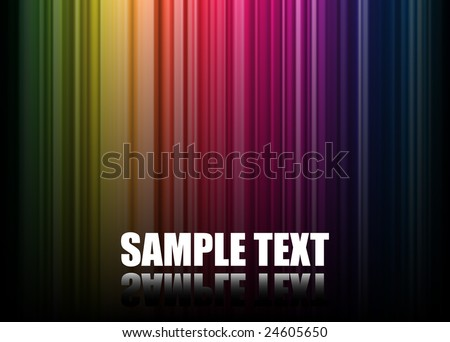 Abstract Spectrum Background (Vector) - -Check My Portfolio For More. - stock vector