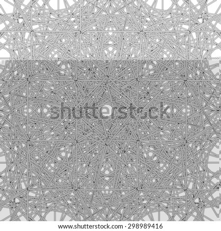 Abstract Spider Web Construction Structure Vector 337 - stock vector