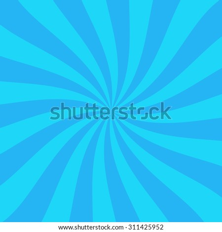 Abstract spiral striped background. Star burst background - stock vector