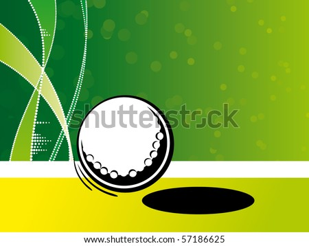 Abstract sport background - stock vector