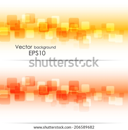 Abstract square backgrounds - stock vector