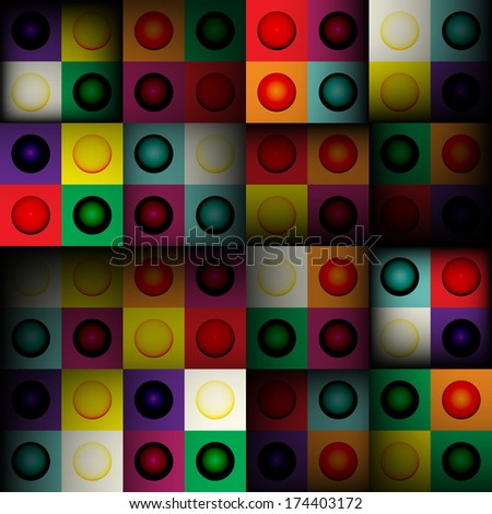 Abstract square seamless background, vector illustration for your design, eps10