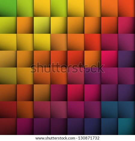Abstract squares background. Vector, EPS10 - stock vector