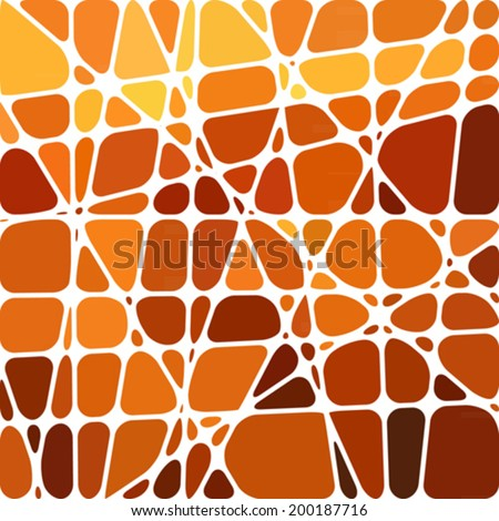 abstract stained-glass mosaic background - stock vector