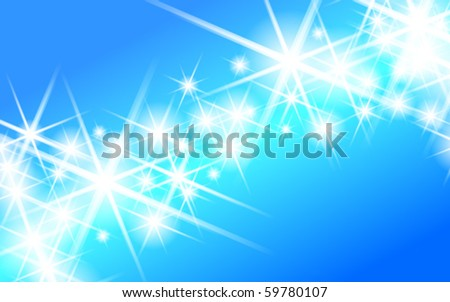 abstract star vector background - stock vector