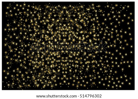 Abstract starry background,