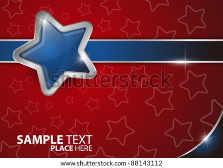 Abstract stars background