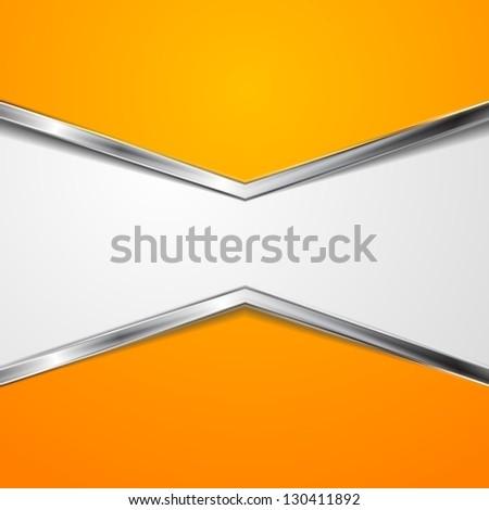 Abstract steel metal elegant background. Vector design eps 10 - stock vector