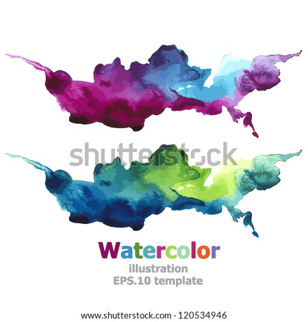 Abstract stripe paint : illustration EPS.10 vector - stock vector