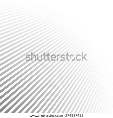 Abstract striped background with perspective - vector eps10 - stock vector