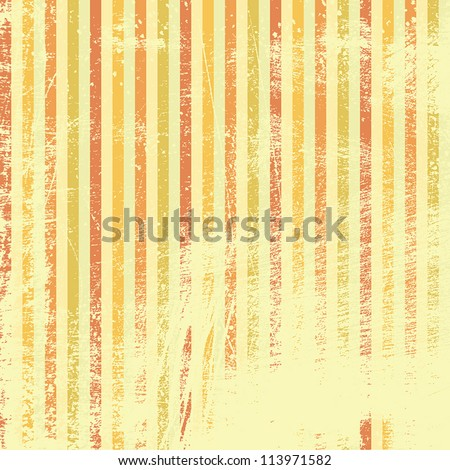 Abstract Striped Colored Wallpaper. EPS10 vector illustration. Grunge effect can be cleaned easily - stock vector