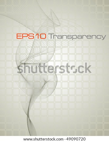 Abstract stylish background - vector illustration - stock vector