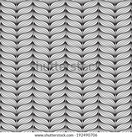 Abstract stylish background with Vector pattern. - stock vector