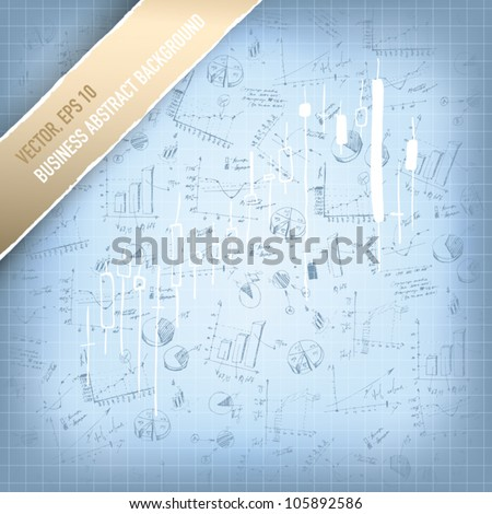 Abstract successful business background. Vector, EPS 10 - stock vector