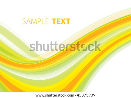 Abstract summery background with copy space. Vector