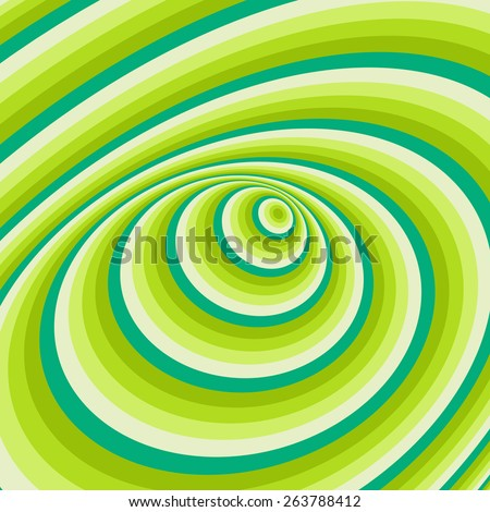 Abstract swirl background. Pattern with optical illusion. Vector illustration.  - stock vector