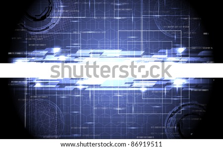 abstract tech design