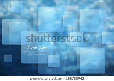 Abstract tech glossy squares background. Gradient mesh