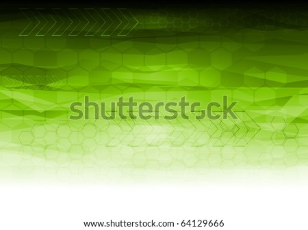 Abstract technical background - eps 10 - stock vector