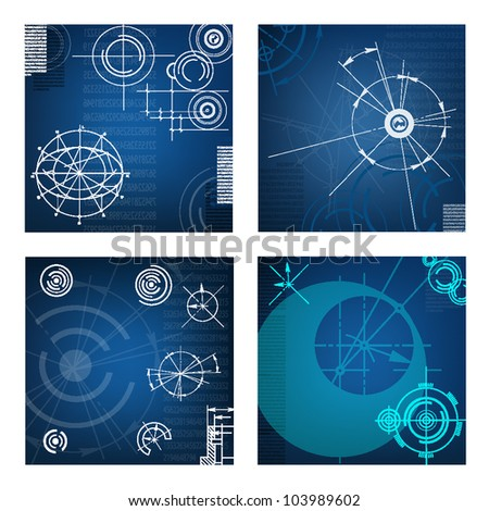 abstract techno background.vector file. EPS10