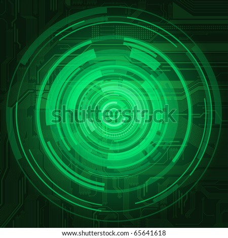 Abstract technological style background eps10 - stock vector