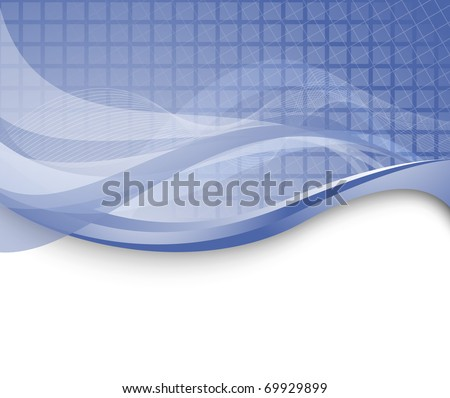 Abstract technology background; clip-art - stock vector