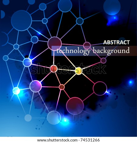 Abstract Technology Background. Eps 10.