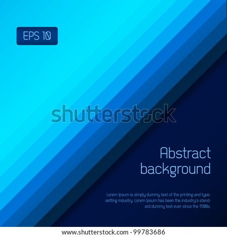 Abstract technology background for your business artwork - stock vector