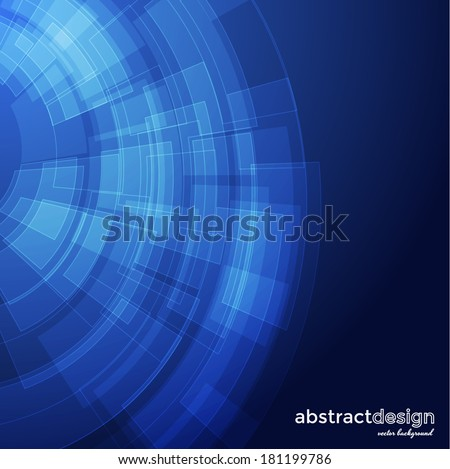 Abstract technology background for your business presentations. Vector eps10 - stock vector