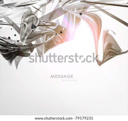 Abstract technology background - vector illustration. Eps10. - stock vector