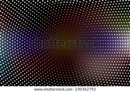 abstract technology background with the blue and pink gradient - stock vector
