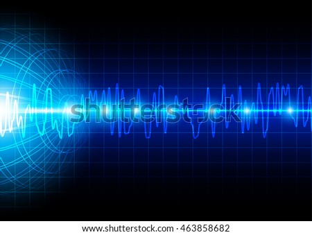abstract technology communication illustration vector design