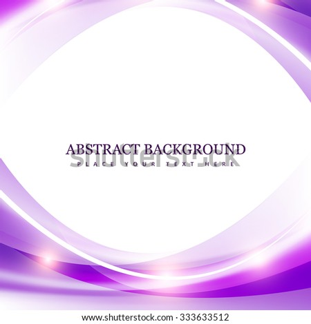 Abstract technology creative wave vector background - stock vector