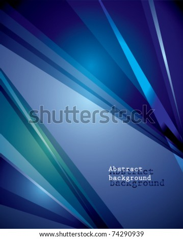 Abstract technology lines vector - stock vector